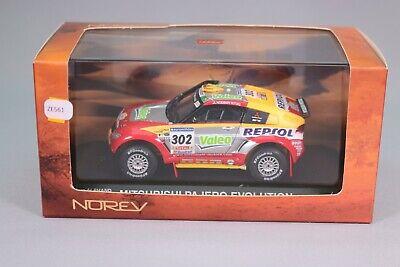 MITSUBISHI PAJERO 2006 #302 Alphand-Picard RLY27 1//43 norev M6 Paris//Dakar