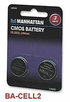 Lithium Cmos Battery Cr2032, ( 2 Pack), Ba-cell2