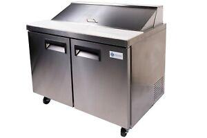 A-C-E-Mega-Top-Sandwich-Salad-Refrigerated-Prep-Table-47-034-Double-Door-Cabinet