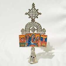 Ethiopian Coptic Icon Altar Orthodox Christian African. BIRTH OF JESUS CHRIST