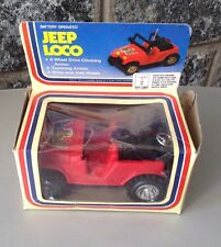 DINKY TOYS Jeep Loco Modellino Anni 70/80 In Box Battery Operated