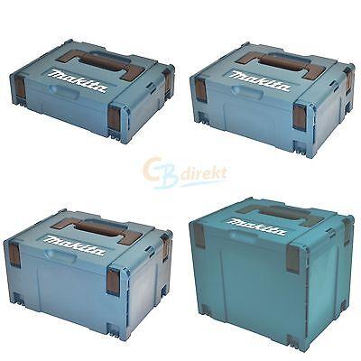 Makita Systemkoffer MAKPAC 1 / 2 / 3 / 4 Leer Koffer Maschinenkoffer MACPAK