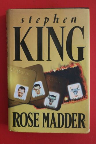 1 of 1 - *1st UK Edition* ROSE MADDER by Stephen King (Hardcover/DJ, 1995)
