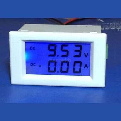 0-200V/10A Shunt DC Voltmeter Ammeter Digital LCD Voltage Current Meter 12V 24V