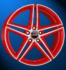 Borbet XRT 8 X 18 5 X 112 45 racetrack red polished