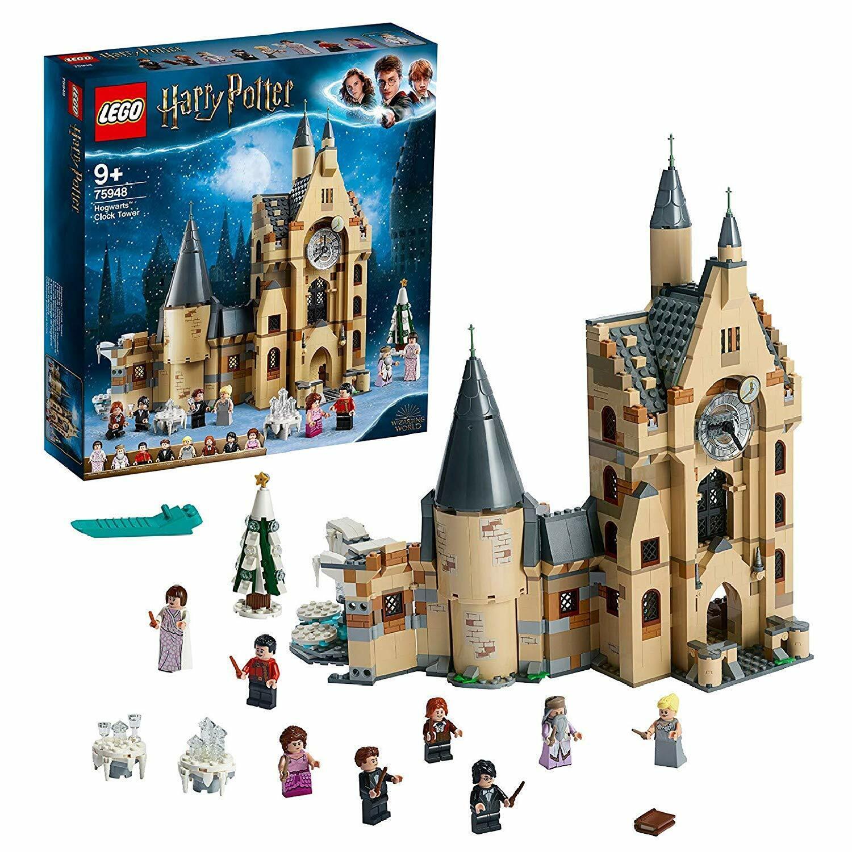Lego Harry Potter - La Torre dell'Goldlogio di Hogwarts, 75948