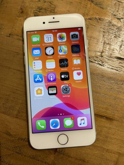 Atemberaubende Apple iPhone 7 - 128gb Smart Handy in Silber/Weiß-Entsperrt