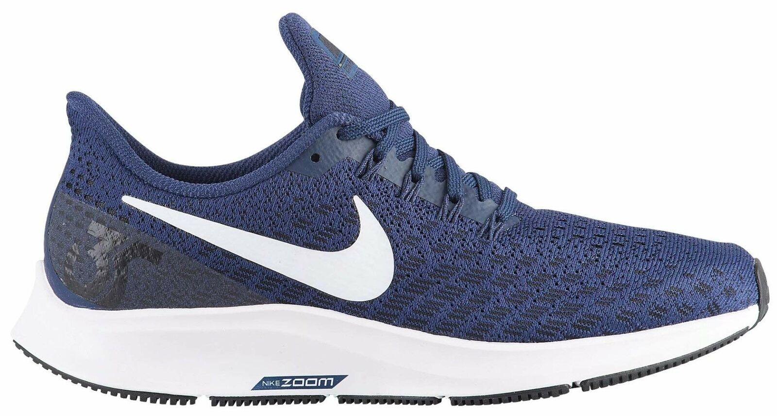 Nike W Nike AIR Zoom PEGASUS 35 TB, MIDNIAKT MIDNIAKT MIDNIAKT NAVY  VITE -BLAKK, 6  med billigt pris för att få bästa varumärke