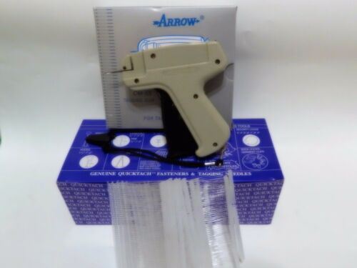 Garment CLOTHING PRICE LABEL TAGGING TAGGER GUN WITH 5000 pins barbs FASTENER 2/""