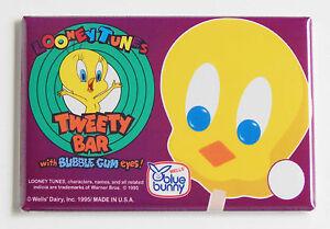 tweety bird ice cream fridge magnet 2 5 x 3 5 inches popsicle sign