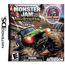Monster Jam 3 with Kinex Bundle - Nintendo DS Toy Bundle