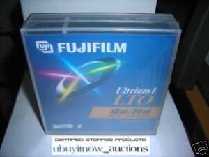 Details about NEW 1/PK Fujifilm Ultrium 1 LTO 10/20GB Data Cartridge 78903  Backup or TEST Tape