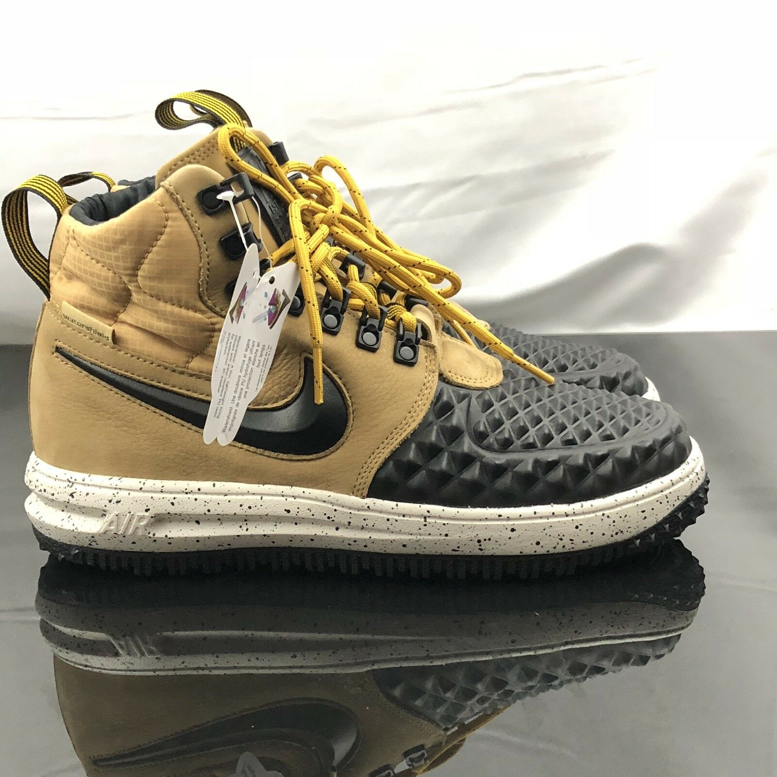 Nike Lunar Force 1 Duckboot '17 Mens gold Black Bone 916682-701