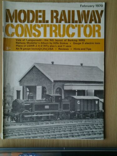 Model Railway Constructor Magazine - Various Issues 1970