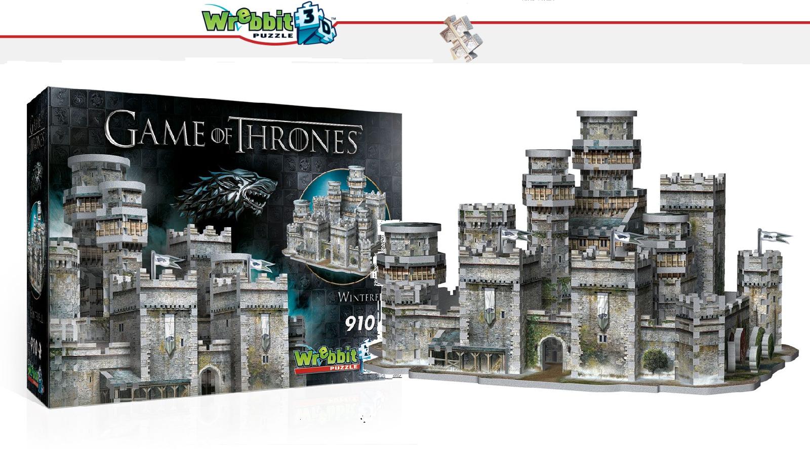 Wrebbit 3D Puzzle - Game Of Thrones - Winterfell - Neuf   Embal. Origine