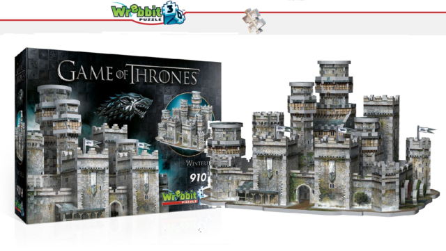 Wrebbit 3D Puzzle - Game of Thrones - Winter fur - New/Boxed