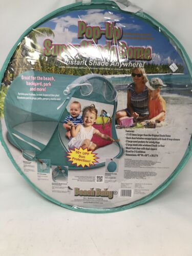 Redmond Beach Baby Kids Pop Up Shade SUPER DOME EN TURQUOISE