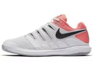 buy popular befd3 bdbf7 Image is loading Nike-Air-Zoom-Vapor-X-10-HC-Tennis-