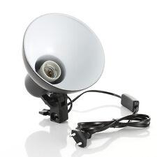 Lamp Shade Sparkler Reflector +E27 Bulb Head Holder for Photo Studio Light Stand