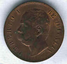 Italie 10 Centimes Umberto 1º 1893 B @ Sans Circulaire @