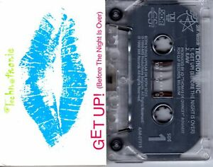 Technotronic-Get-Up-Before-The-Night-Is-Over-Cassette-Tape-Single-Pop-Dance-Rock