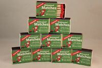Waterproof Matches-10 Boxes Of 40+ Over 400 Matches-cannot Light Accidentally