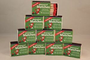 WATERPROOF-MATCHES-10-BOXES-OF-40-OVER-400-MATCHES-CANNOT-LIGHT-ACCIDENTALLY