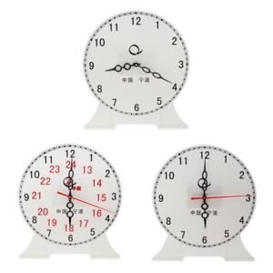 Details about Teachers Teaching Time Clock Educational Clock for Kids  Student Learning Time