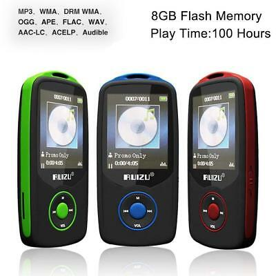 64G Support RUIZU X06 Bluetooth Sport MP3 Player TF Card Music Media 1.8 TFT LK