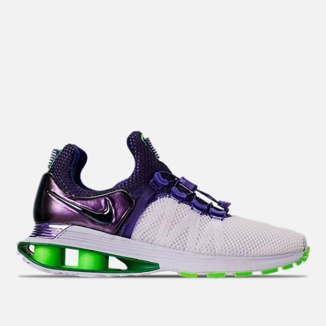 610509ba8bf Nike Shox Gravity White Fusion Violet AQ8554 105 105 105 Women Sz 7.5 86350b