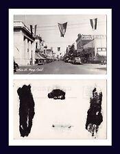 CALIFORNIA NAPA MAIN STREET ZAN STARK REAL PHOTO 1122 KODAK BACK CIRCA 1935