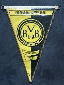 RAR-Orig-Alter-Wimpel-Borussia-Dortmund-Europapokalsieger-1966-BVB-Fussball