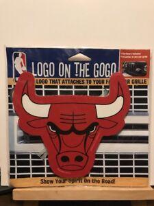 9238e514 Brand New ~ Chicago Bulls Logo On The Gogo Sign Front Car Grille ...