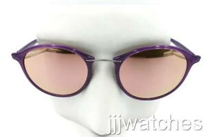 bbb80d57cc Image is loading Ray-Ban-LightRay-Titanium-Violet-Copper-Mirror-Sunglasses-