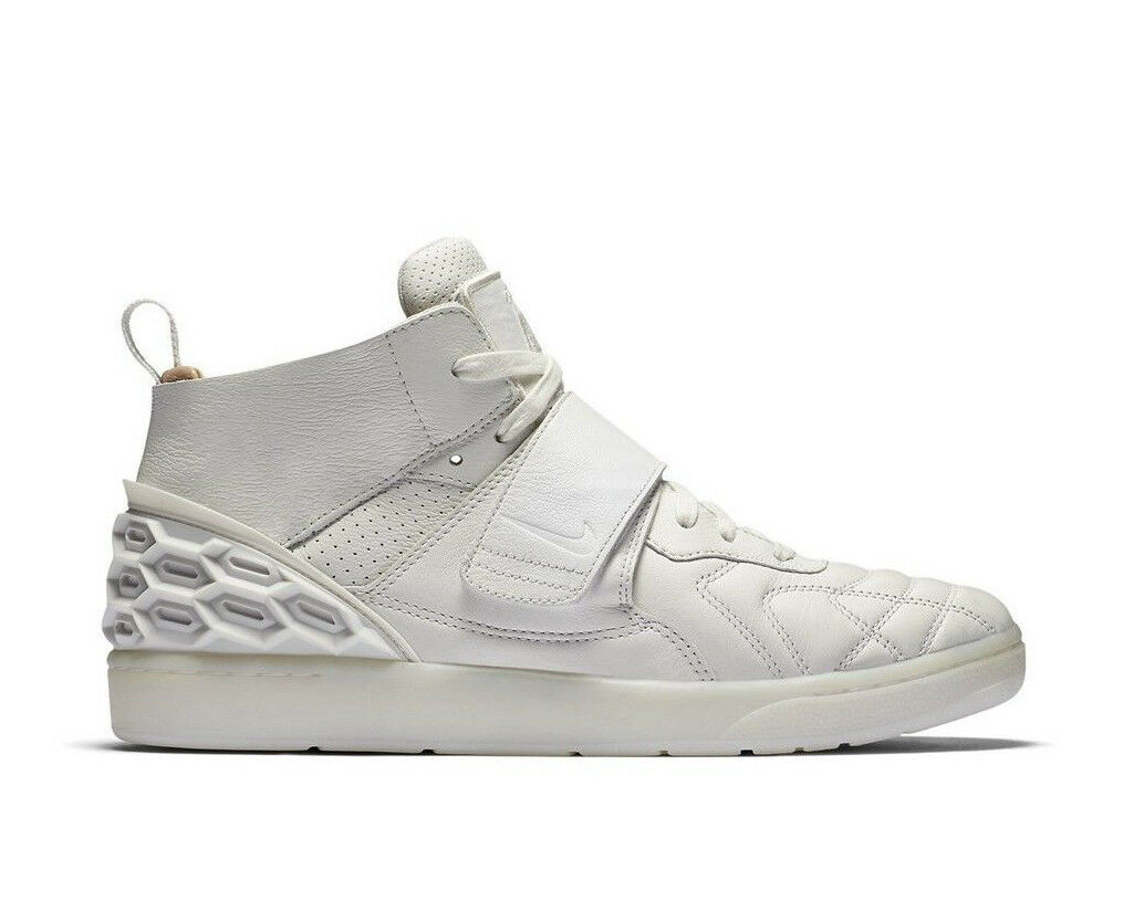NIKE LAB TIEMPO VETTA Trainers Fashion Mid Leather - () White