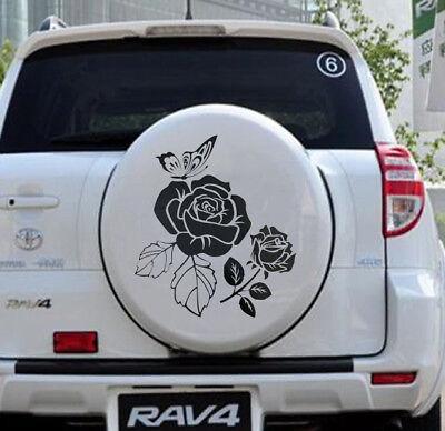 Toyota Decals Stickers  Rav 4 D4d XA30 rear sticker Spare Tire