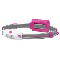 Led Lenser Mens Womens Running Sport Neo Headlight Headtorch Lamp Pink Red on sale