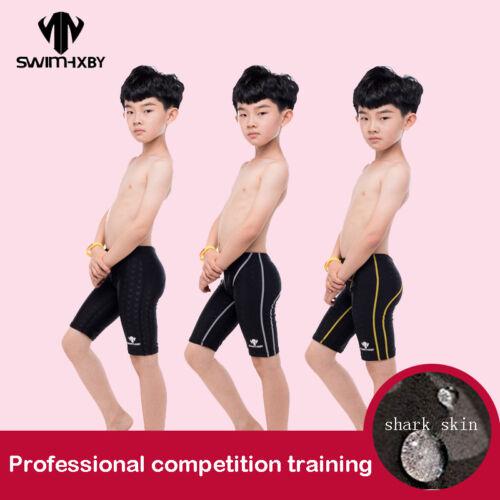 Swimming Trunks Boys Swimwear Training Children/'s Swimsuit For Boy Competition