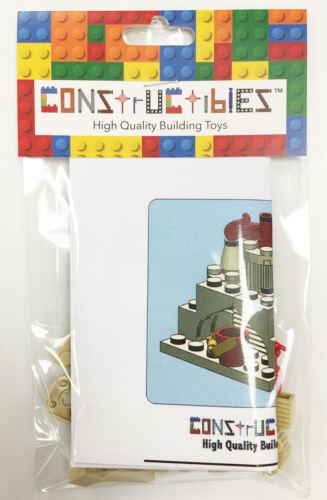 Constructibles® Sandcastle Mini Model LEGO® Parts /& Instructions Kit