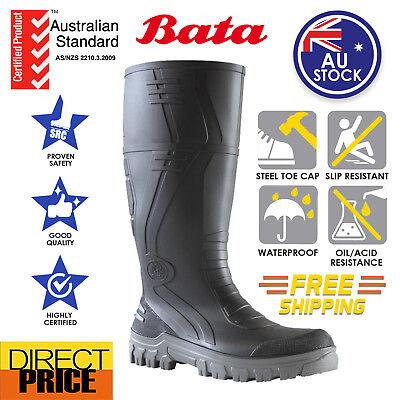 BATA Jobmaster Safety Gumboots Work