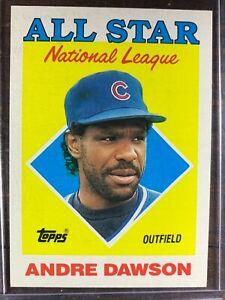 Andre Dawson Baseball Card #401 Topps 1987 RBI Leaders Chicago Cubs MLB HOF MINT