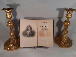 M-Amar-uvres-de-Boileau-1878-Librairie-de-Firmin-Didot