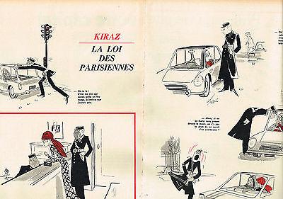 Be Shrewd In Money Matters Publicite Advertising 024 1970 Kiraz La Loi Des Parisiennes 2 Pages