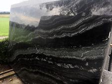 Tischplatte Arbeitsplatte Naturstein Granit  Abdeckung Steinplatte schwarz/weiss