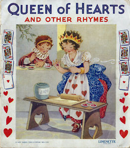 Image Is Loading Nursery Rhymes Queen Of Hearts And Other