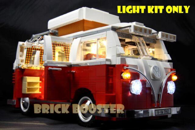 USB Powered LED Light Kit for Lego 10220 Volkswagen T1 Camper Van