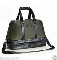 Versace Parfums Military Olive Green Weekend / Holdall / Sport Bag Brand