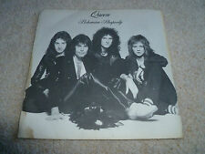 "QUEEN-Bohemian Rhapsody  VINYL 7"" UK  ORIGINAL PS SINGLE"