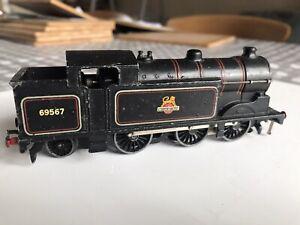 Hornby Dublo 3 rail British Railways Class N2 0-6-2T 69567 - BR Black