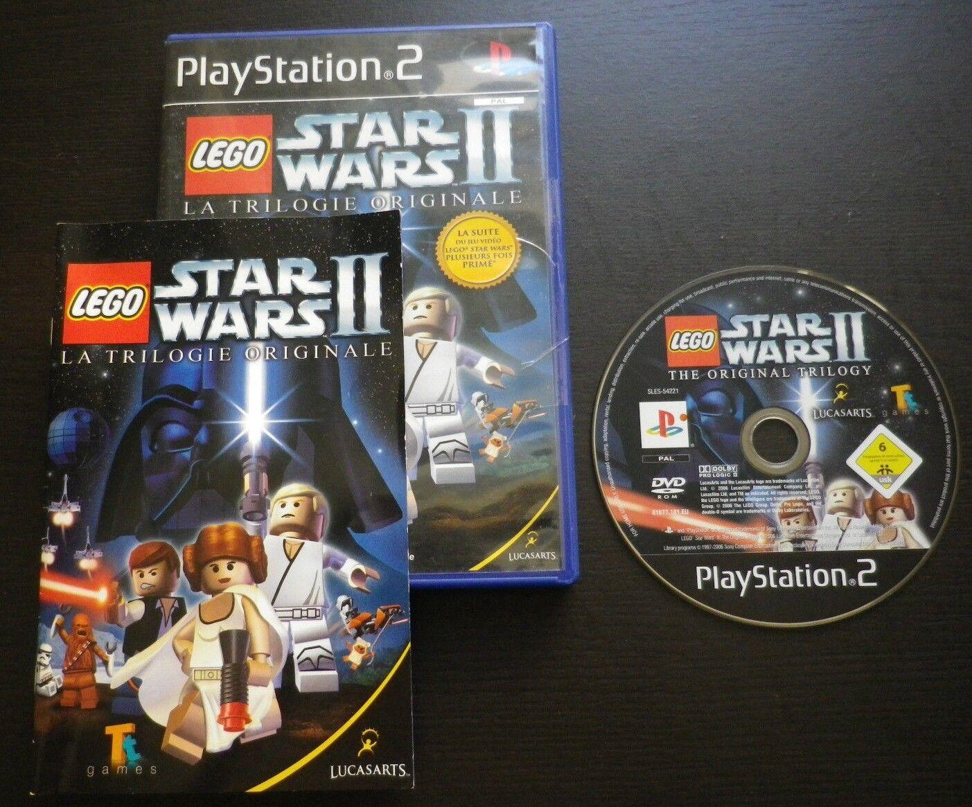LEGO STAR WARS II LA TRILOGIE ORIGINALE : JEU - jeu StarWars